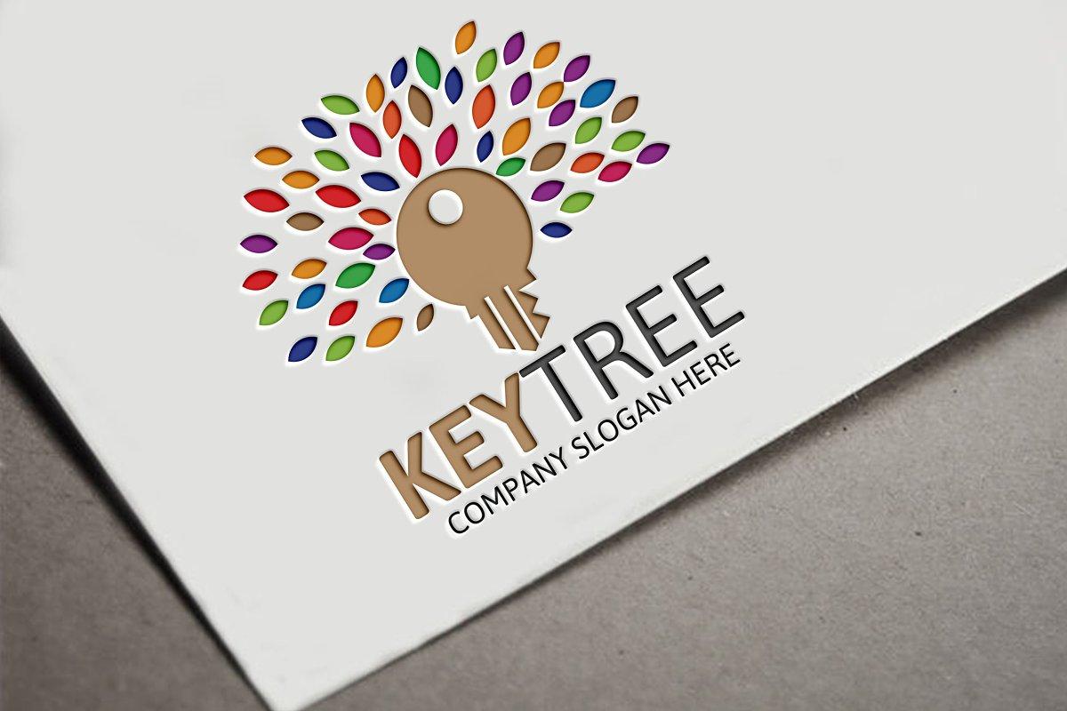 Key Tree Logo in Logo Templates - product preview 8