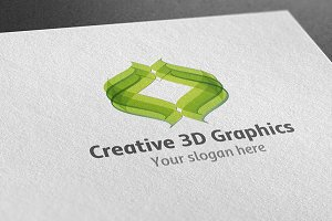 Creative 3D Graphics Logo