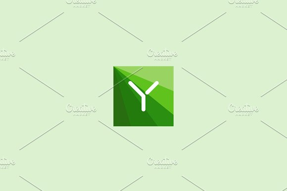 Abstract letter Y logo design in Logo Templates