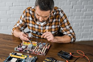 concentrated electronics engineer wi