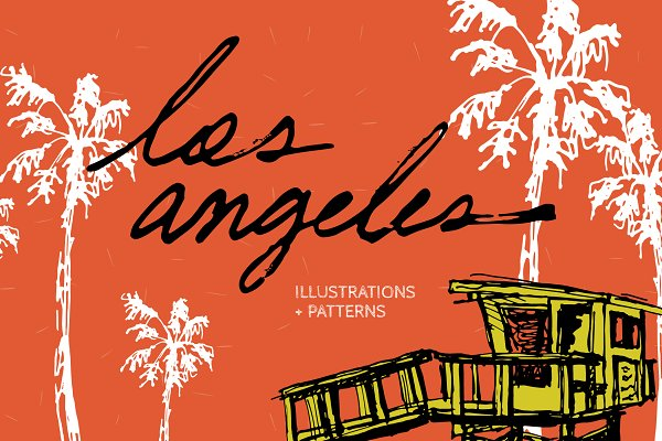 Graphics - Los Angeles | Illustrations and more
