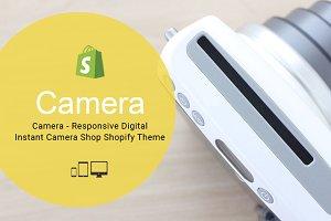 Camera Responsive Shopify Template