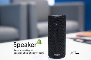 Speaker Responsive Shopify Theme