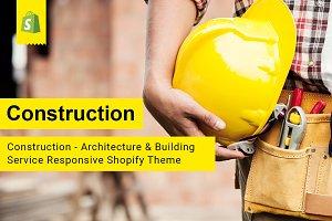 Construction Service Shopify Theme