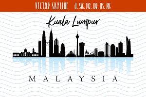Kuala Lumpur Svg Malaysia city