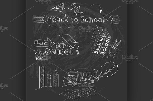 Back to School Calligraphic Designs