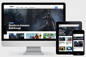 Romero - WordPress Video Game Theme