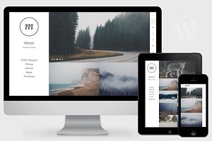 Monet - WordPress Photography Theme