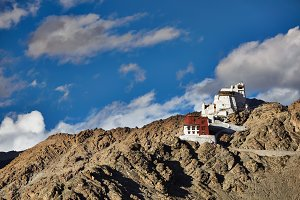 Namgyal Tsemo gompa and fort. Leh