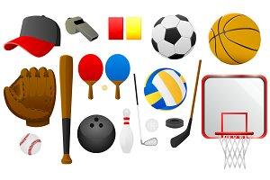 Sports Tools Vector