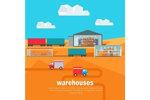 Warehouses in the Dessert