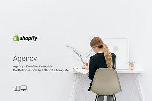 Agency Portfolio Shopify Theme