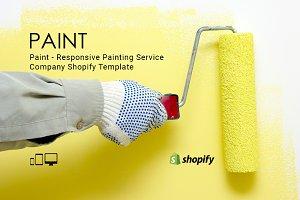 Paint Service Shopify Theme