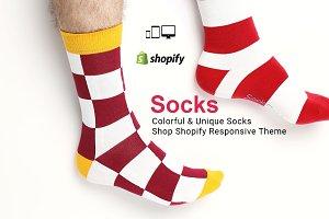 Socks Fashion Shopify Theme Template