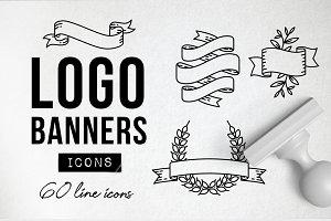 60 Logo Banners - Logo Builder