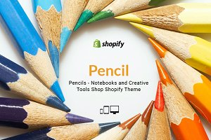 Pencils Accessories Shopify Theme