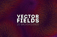 20 Vector Fields Backgrounds