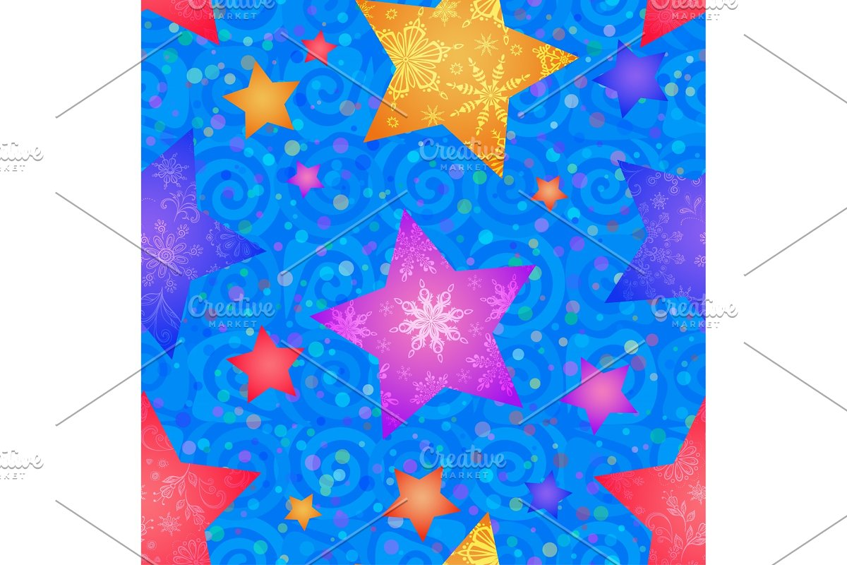 Christmas Seamless Background in Patterns - product preview 8