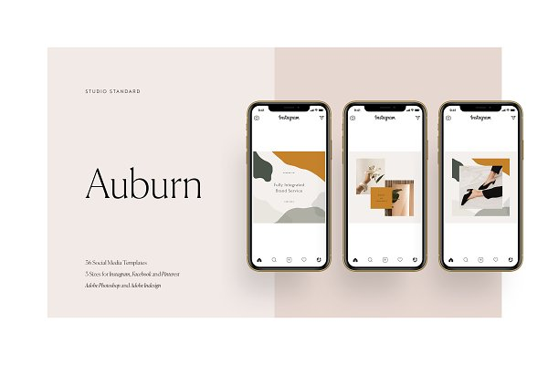 Templates: Studio Standard - Auburn Social Media Pack