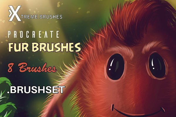 Procreate Fur Brushes