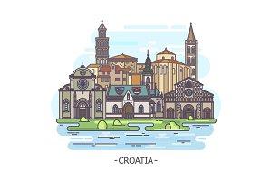 Historical landmarks of Croatia