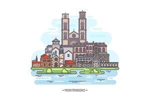 Montenegro architecture landmarks