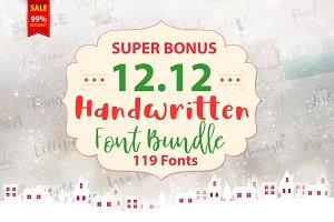 12.12 Super Bonus Font Bundle