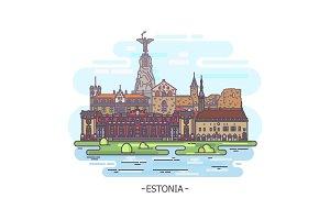 Estonia architecture landmarks