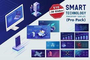 Smart Tech PPT Template (Pro pack)
