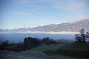 Dolomites. Mysterious landscape