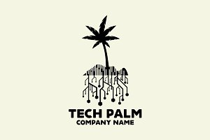Tech Palm Logo