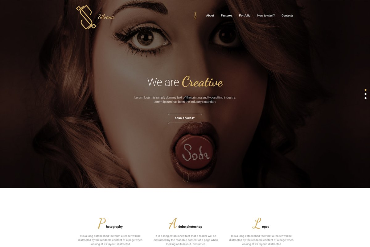 Silvana - Creative WordPress Theme