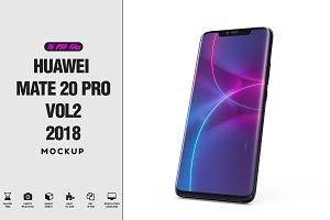 Huawei Mate 20 Pro App Mockup vol2