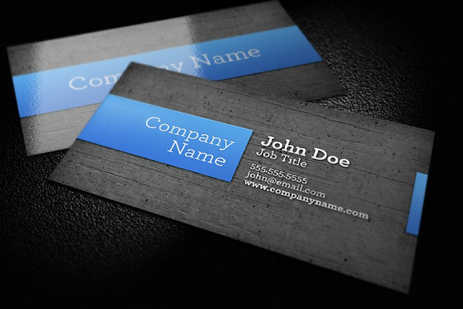 wood background business card  creative business card