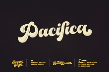 VVDS Pacifica by  in Script Fonts