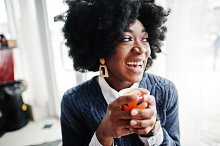 Curly hair african american woman we by  in Beauty & Fashion