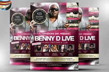 Benny D Event Flyer Template