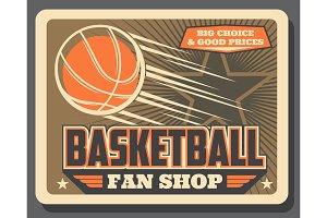 Basketball sport balls fan shop