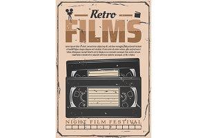 VHS video retro films digitization