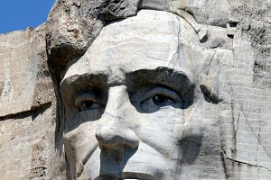 Abraham Lincoln on Mt Rushmore