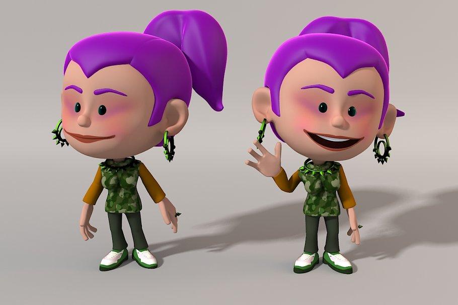 Cartoon Character / Nicole