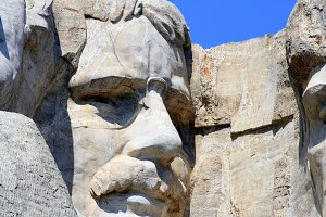 Theodore Roosevelt on Mt Rushmore 1