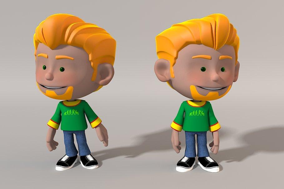Cartoon Character / Gavin