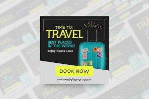 Travel Banner Ads (18 sizes)