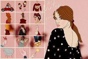 Winter Clipart Set #1