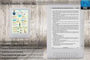 Book Reader Kindle Mockup Vol 1