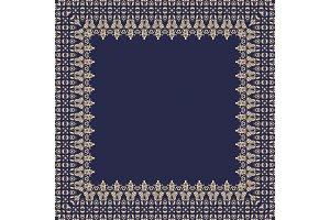 Floral Vector Fine Frame