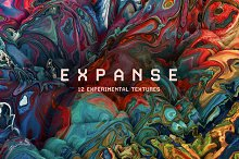Expanse: 12 Experimental Textures by  in Textures