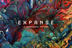 Expanse: 12 Experimental Textures