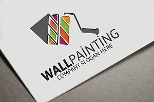 Wall Painting Logo